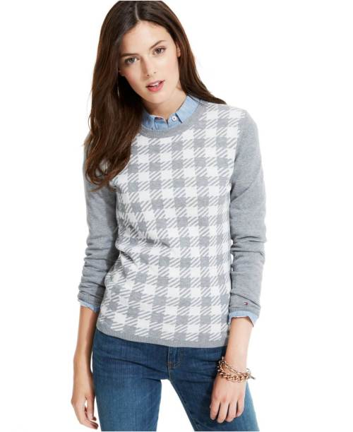 Tommy-Hilfiger-Checkered-Crew-Neck-Sweater2