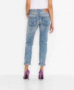 501® CT Jeans for Women - Torn Indigo2