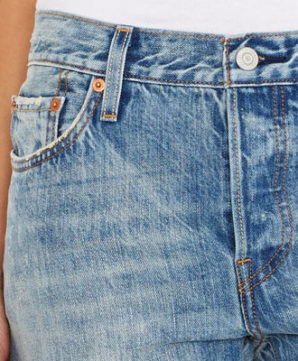 501® CT Jeans for Women - Torn Indigo4