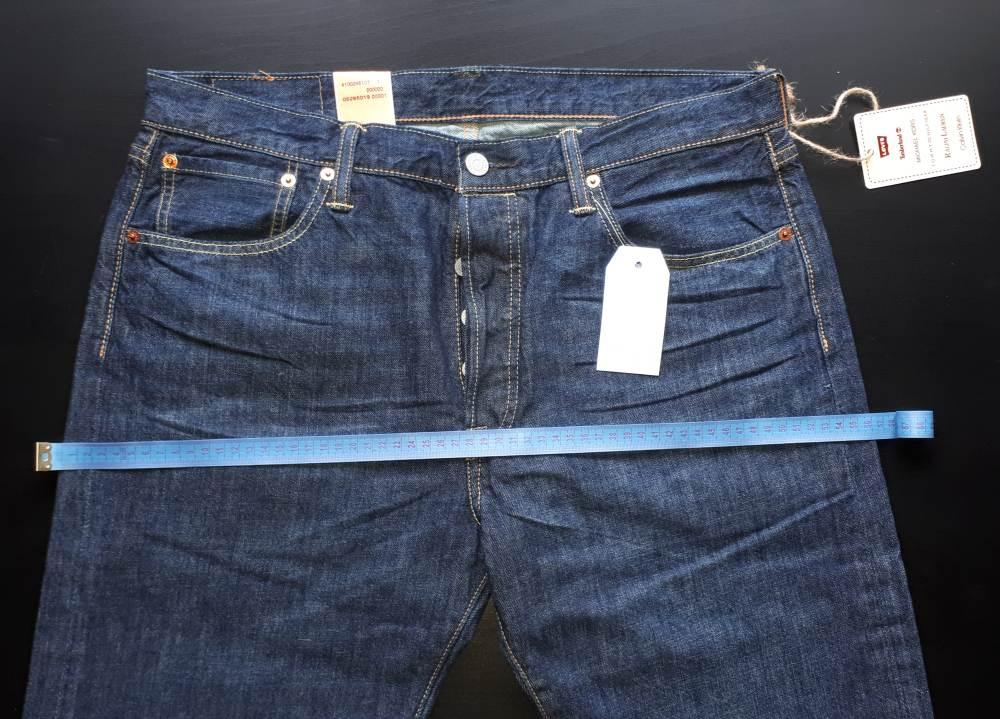 Как подобрать размер мужских джинсов Levis?