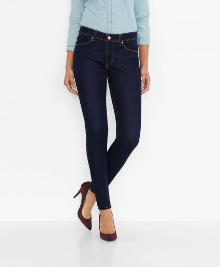 REVEL SLIGHT CURVE SKINNY JEANS Pressed Dark