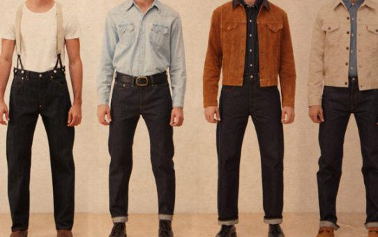 модели мужских джинсов Levis