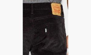 514™ STRAIGHT FIT CORDUROY PANTS - Black5