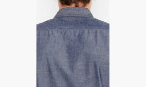 Levis Stock Work Shirt - Chambray Indigo4