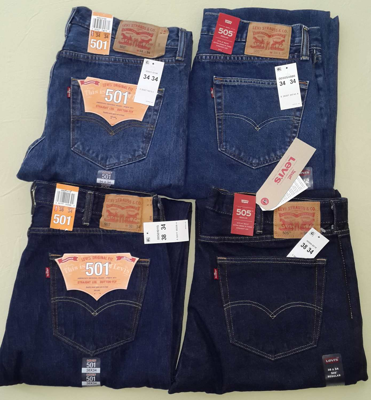 левис модели джинсов