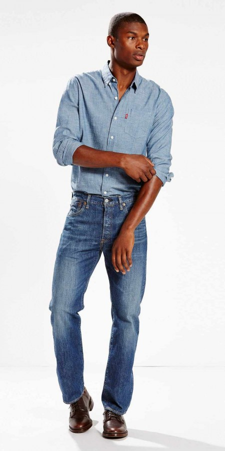 Легкие джинсы Levis 501 Original Fit - JD