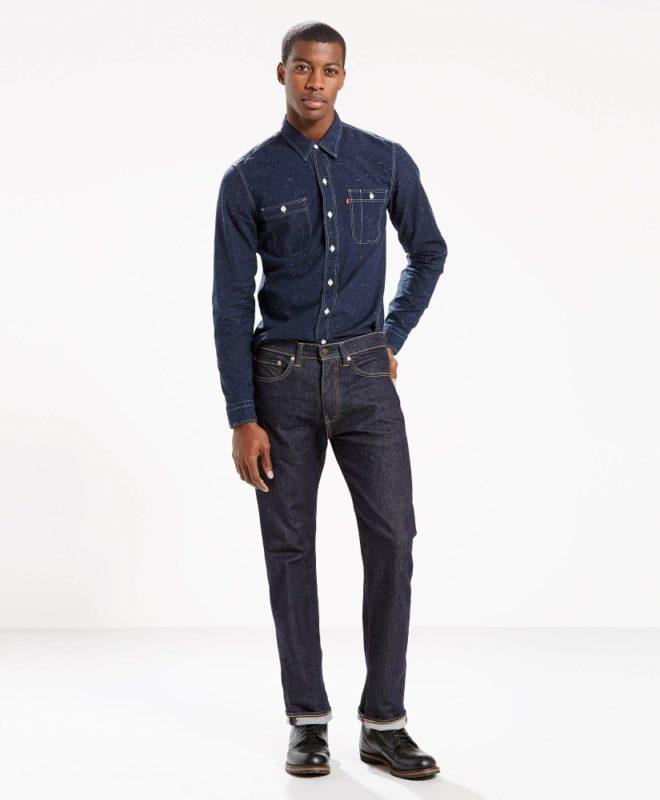 Сверхпрочные джинсы Levis 505 - Rock Cod