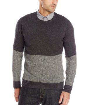 Мужской двуцветный свитер от Levi Strauss