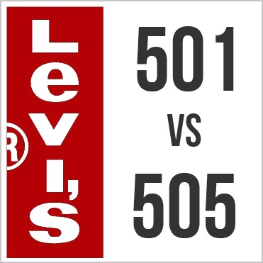 levis 501 vs levis 505