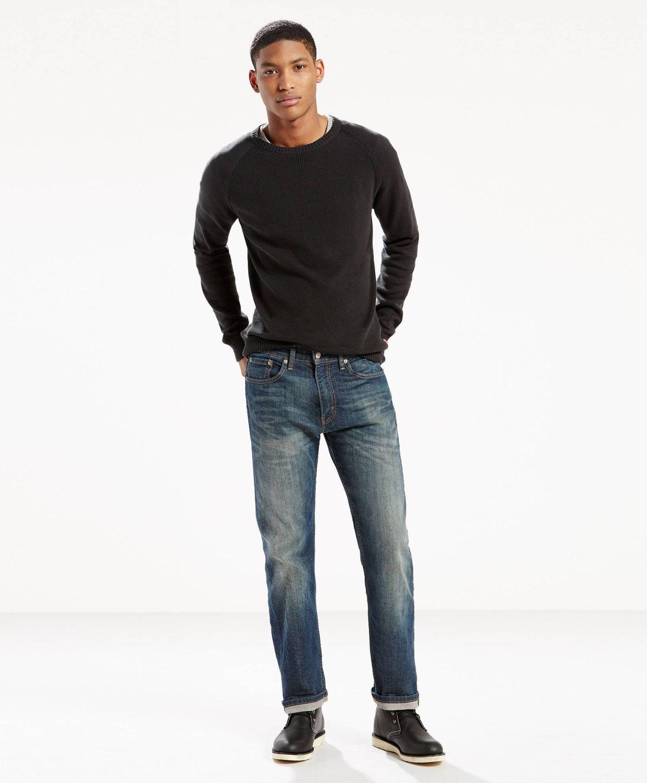 Прямые классические джинсы женские