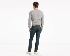 Levis 511 Slim Fit Jeans - Rinsed Playa3
