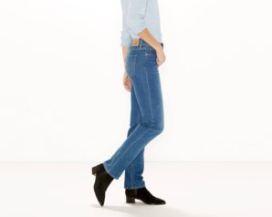 314 Shaping Straight Jeans - Worn Blue2