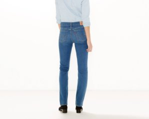 314 Shaping Straight Jeans - Worn Blue3