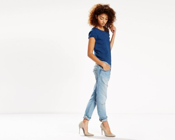 501® CT JEANS FOR WOMEN - Turbulent Indigo