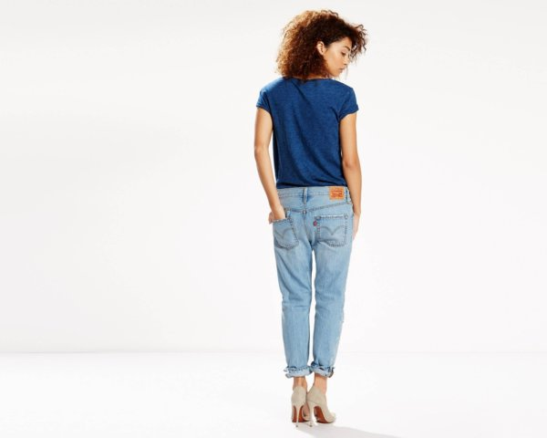 501® CT JEANS FOR WOMEN - Turbulent Indigo3