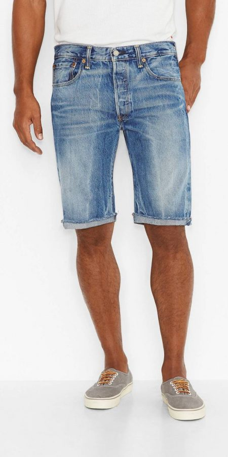 Обрезные шорты Levis 501 - Superstone