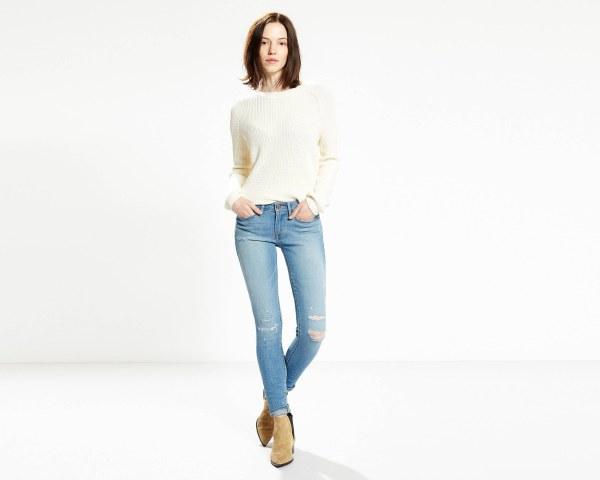 LEVIS 711 Skinny Jeans - LASTING DAMAGE2