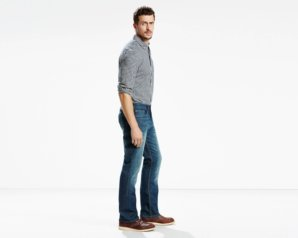 Levis 514 Straight Fit Jeans - Midnight Blue2