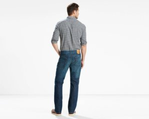 Levis 514 Straight Fit Jeans - Midnight Blue3