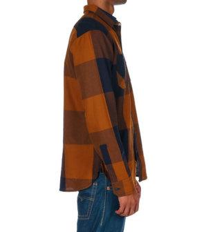 Levis AKIR TWILL WOVEN SHIRT - Orange3