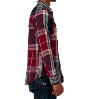 Levis DALDRY TWILL WOVEN SHIRT - Red3