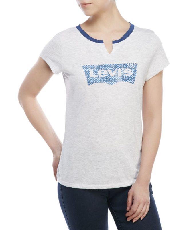 Женская футболка Levis - белая