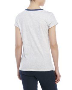 Levis Short Sleeve Logo Tee - White Heather2