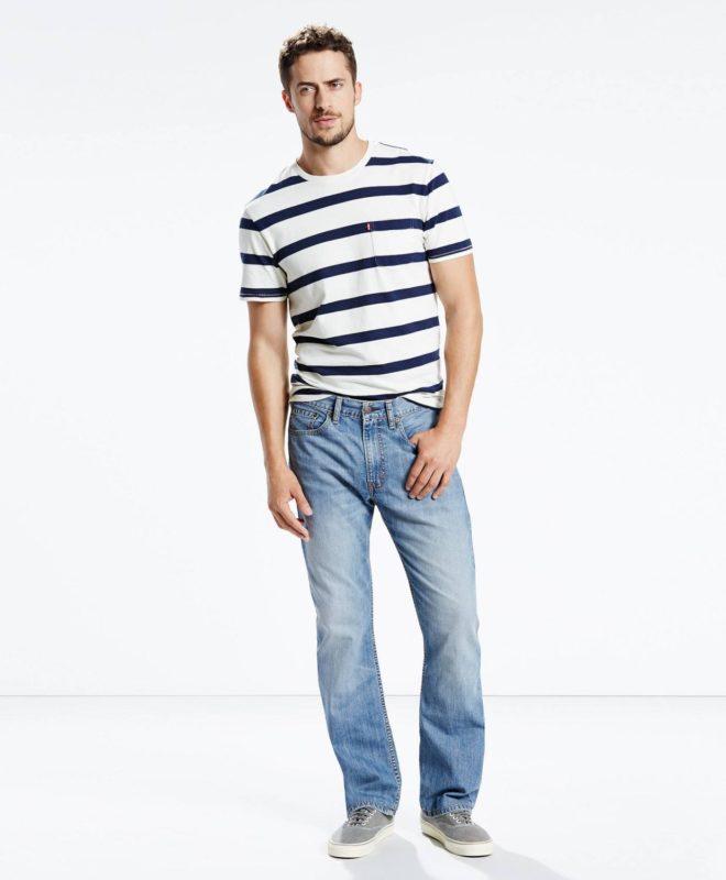 Мужские джинсы Levis 505 Regular Fit - Cabana