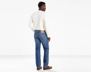 Levis 501 Original Fit Lightweight Jeans - Davis3