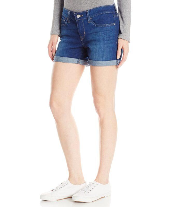 Женские шорты Levis средней длины - Summer Shade