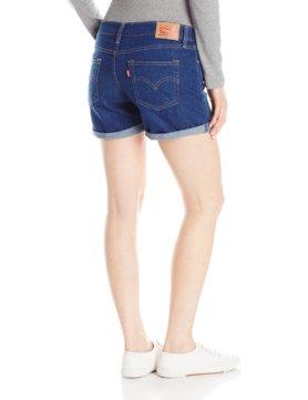 Levis Womens Mid Length Short - Summer Shade2