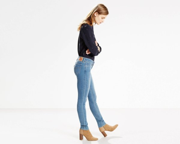 LEVIS 711 Skinny Jeans - Inkwell4