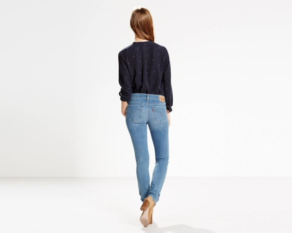 LEVIS 711 Skinny Jeans - Inkwell5