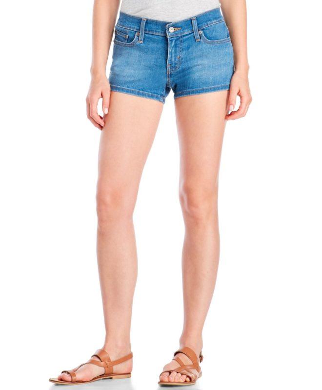 Короткие женские шорты Levis - Indigo Spirit