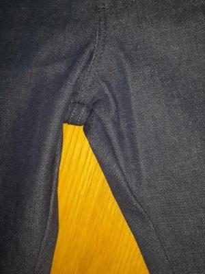 Шов на джинсах Ренглер