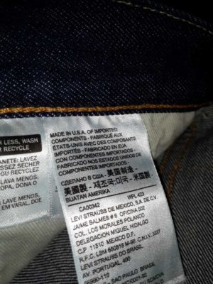 джинсы Levis Made in the USA