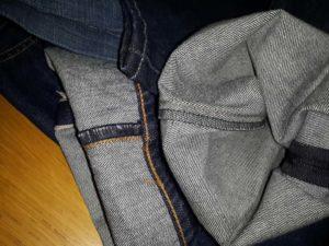 оверлок на джинсах Levis