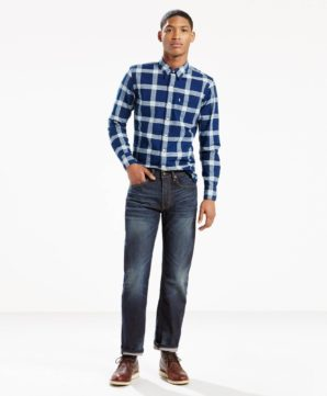 Джинсы Levis 505 Regular Fit - Petrel
