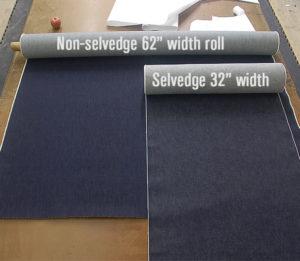 рулон селвидж-ткани