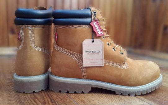 Обзор ботинок Harrison R Engineer Boot от Levi Strauss