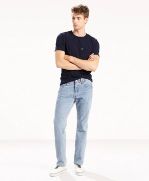 Джинсы Levi's 501 Original Fit - Light Stonewash