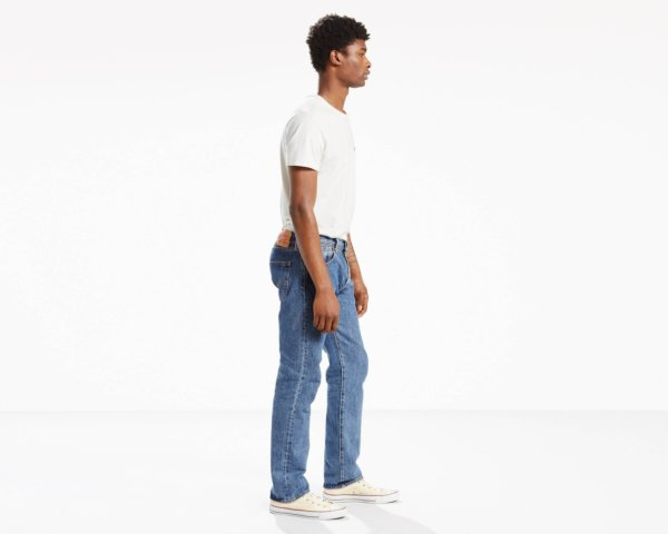 LEVIS 501 ORIGINAL FIT JEANS - Medium Stonewash2