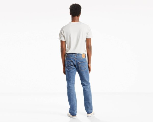 LEVIS 501 ORIGINAL FIT JEANS - Medium Stonewash3