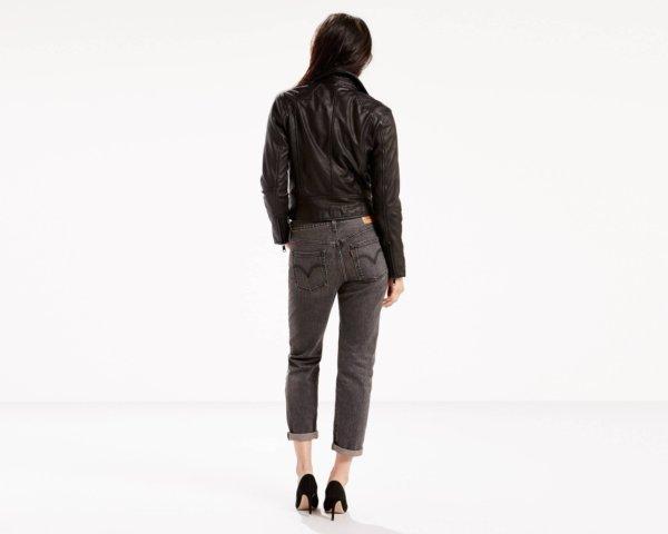 Levis 501 CT Stretch Jeans for Women - Black Coast2