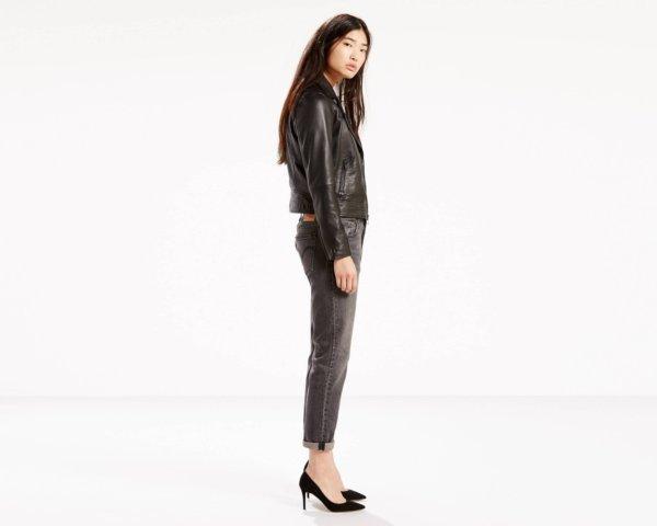 Levis 501 CT Stretch Jeans for Women - Black Coast3