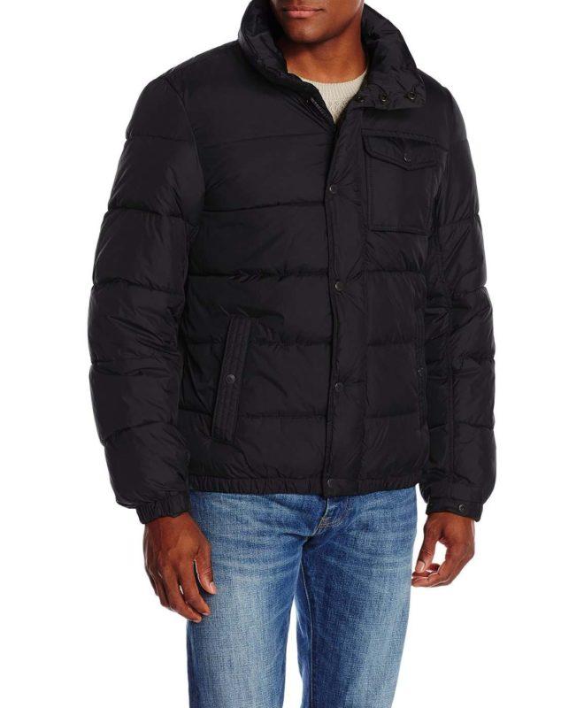 Мужская зимняя куртка Levis - черная (LM4RN242B)