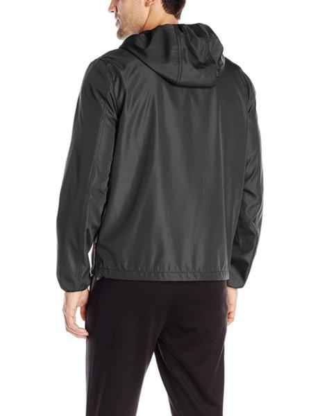 Levis Mens Rip Stop Performance Hooded Jacket - Black2
