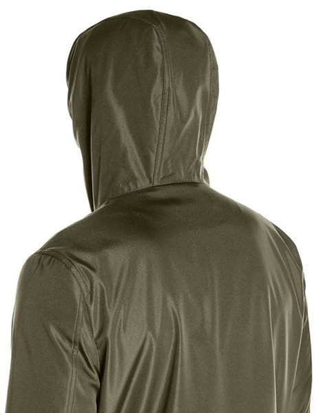 Levis Mens Rip Stop Performance Hooded Jacket - Olive3