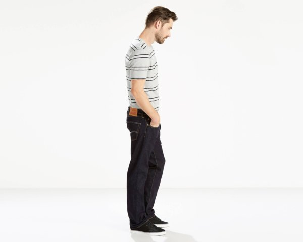 Levis 505 Regular Fit Performance Cool Jeans - Cool Rinse2