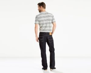 Levis 505 Regular Fit Performance Cool Jeans - Cool Rinse3